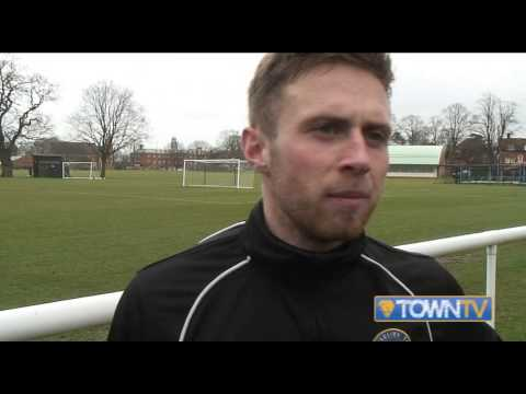 Jordan Clark pre Northampton Town home 14/15 - Town TV