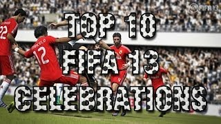 FIFA 13 - Top 10 Over used Celebrations