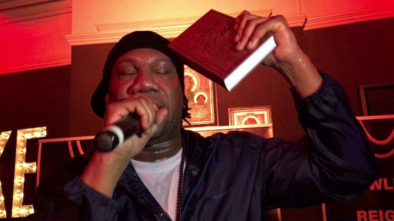 KRS-ONE Live in UK Gospel of Hip Hop Freestyle