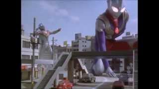 Download Video Good vs Evil! Ultraman Tiga vs Evil Tiga MP3 3GP MP4
