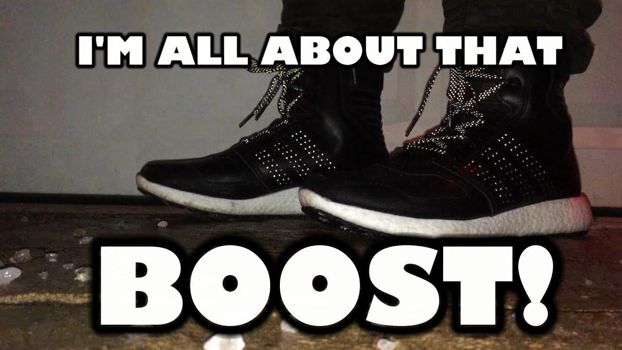mezcla Currículum reserva  Adidas ClimaHeat Rocket Boost HC Review & On Feet - COMFORT! - YouTube