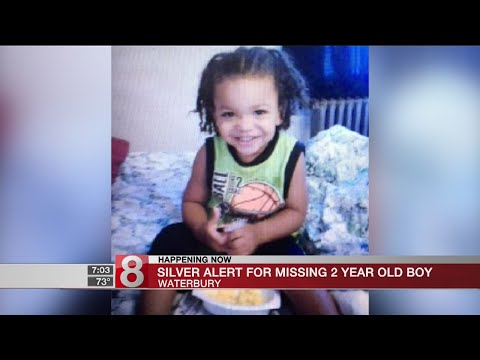 Silver Alert issued for missing Waterbury 2-year-old