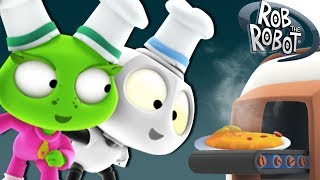 Learn Cooking |  Preschool Learning Videos | Rob The Robot