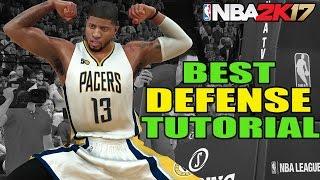 ALL DEFENSIVE SETTINGS - BEST DEFENSE TUTORIAL - NBA 2k17 DEFENSE TIPS  (HD)