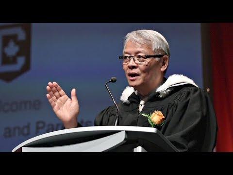 Executive Director Speech at May 2017 Graduation