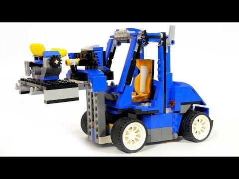 lego creator 31070 forklift