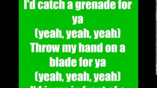 Punk Goes Pop Grenade Memphis May Fire Lyrics!!