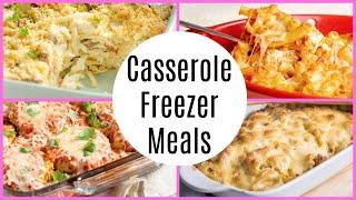 Casserole Freezer Meals