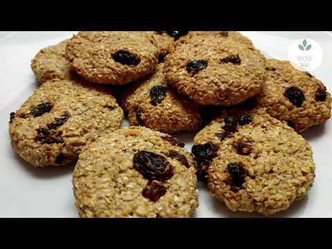 Самый простой рецепт овсяного печенья пп  БЕЗ МУКИ ЯИЦ и САХАРА. Вкусно и полезно!