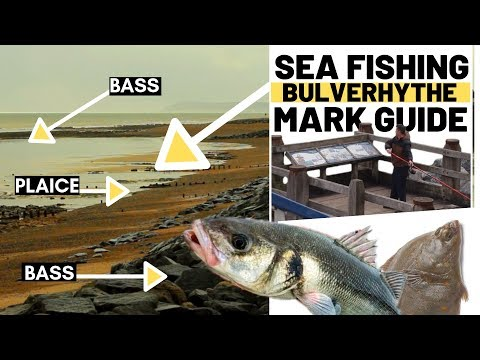 SEA FISHING MARKS GUIDE- Bulverhythe East Sussex