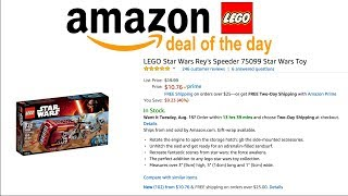 Amazon LEGO Deal of the Day 8/13/17