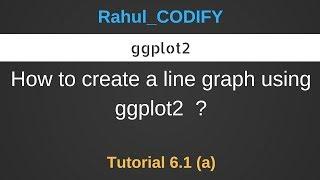 So erstellen Sie ein Liniendiagramm mit ggplot2 ? [R Data Science Tutorial 6.1 (a)]