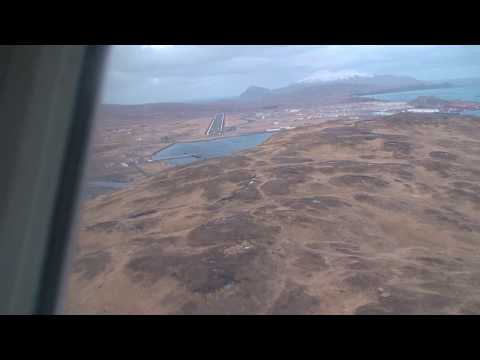 Alaska Airlines Landing Adak