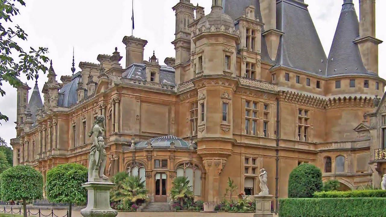 Harlaxton Manor Floor Plan Waddesdon Manor Youtube