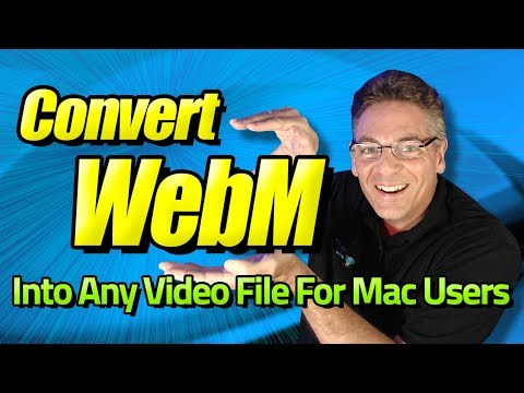 Convert WEBM To MP4, MKV, AVI, And WMV And More For Mac Users