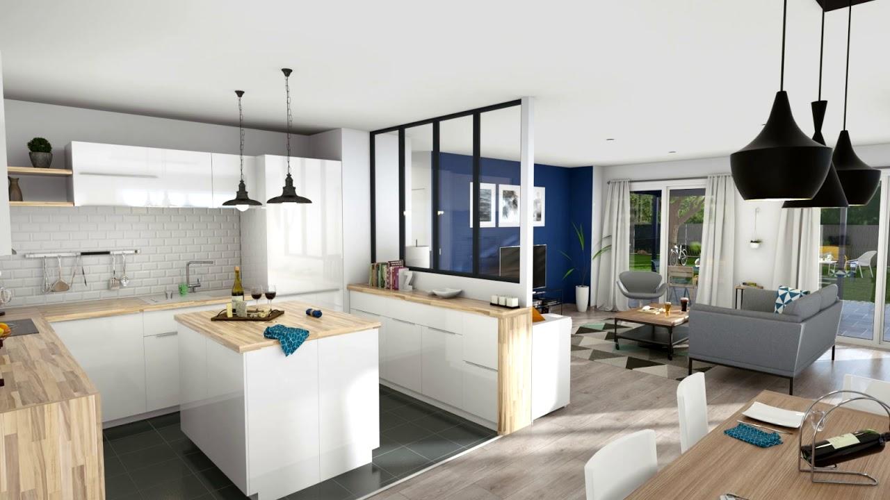 Cedreo architecture 3d pour les professionnels de la construction de maisons youtube - Interieur design maison ...