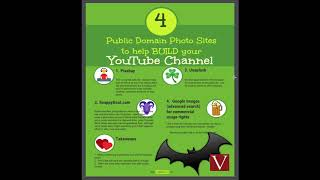 Public Domain Photos help build YouTube channel LEGALLY?