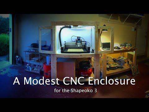 Building a 2x4 CNC Enclosure - CNC Project #96