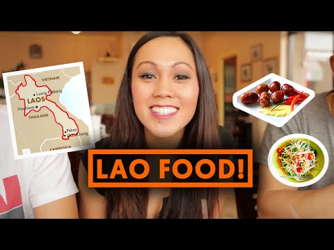 LAO FOOD! (Laotian Cuisine) - Fung Bros Food