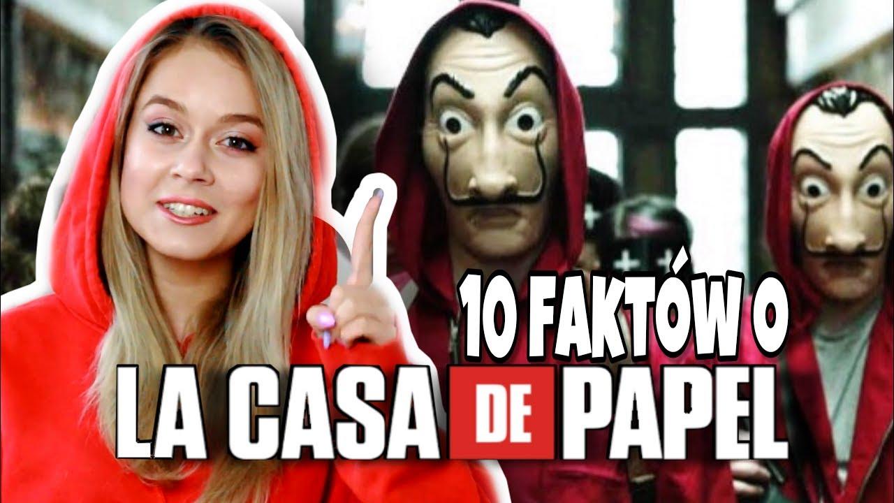 """10 FAKTÓW O SERIALU """"Dom z papieru"""", KTÓRE MUSISZ POZNAĆ!"""