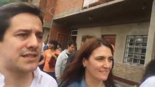 Mariano Recalde con la Ministra de Seguridad Cecilia Rodriguez