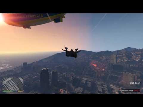 Grand Theft Auto V himmelfall