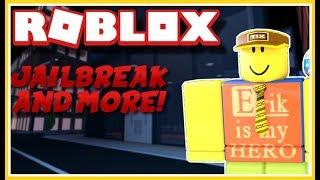 ¡Semana! (woo!) ¡Jugando a ROBLOX Jailbreak con espectadores y fans! ¡Ven a jugar con nosotros! ROBLOX Jailbreak