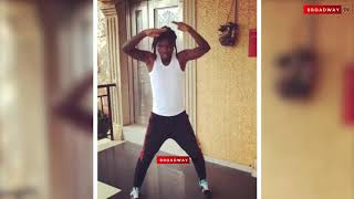 Celebrities reacts to Naira Marley's popular dance step,Soapy.