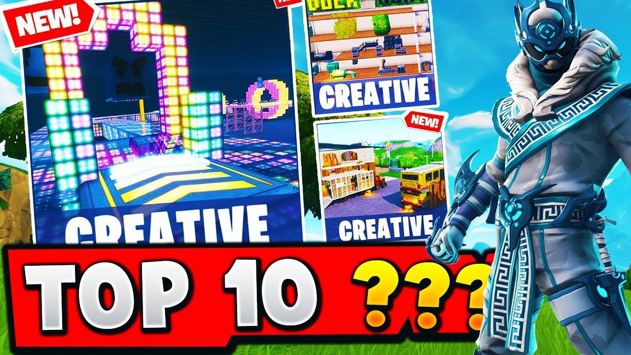 TOP 10 MOST FUN Creative Maps In Fortnite (With Codes ...