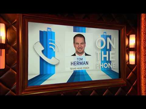 Texas Longhorns Head Football Coach Tom Herman Dials in to The Rich Eisen Show   Full Interview