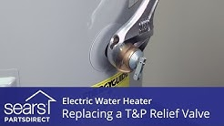 How to Replace an Electric Water Heater T&P Relief Valve