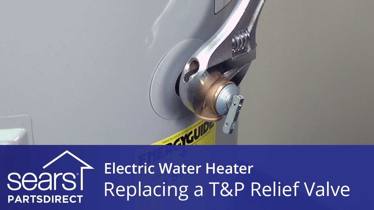 How To Replace An Electric Water Heater Tp Relief Valve Youtube Change The Temperature On Your