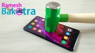 Mi Mix 2 Screen Scratch Test Gorilla Glass 4