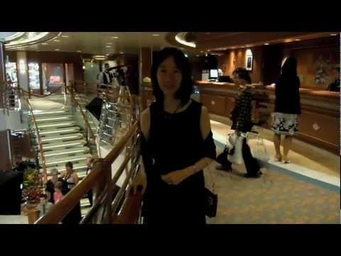 8 Days on Alaska Cruise: Tracy Arm, our room, dining....
