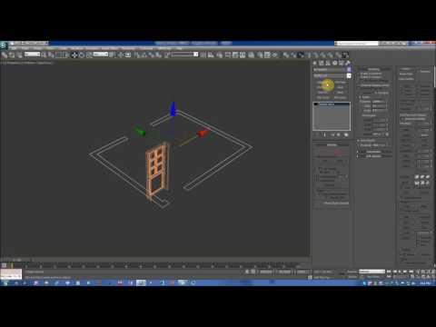3dsmax cơ bản - dựng cửa, phào chỉ, tường... ( một phần của buổi học số 3)
