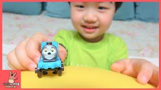 초거대 서프라이즈 풍선 장난감 놀이! 토마스 기차 디즈니카 장난감 ♡ Balloons Surprise Disney Car And Thomas | 말이야와아이들 MariAndKids