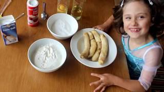 Банановые маффины, самый лучший рецепт из Лондона.