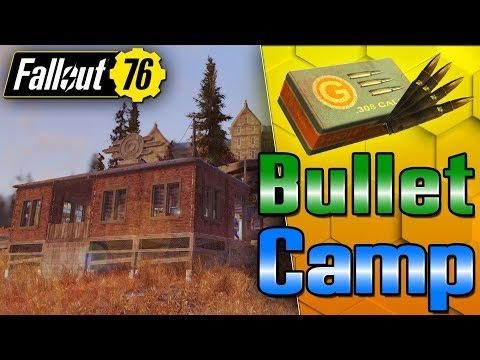 My Camp Makes Ammo & Adhesive! - Fallout 76 C.A.M.P Building thumbnail