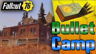 My Camp Makes Ammo & Adhesive! - Fallout 76 C.A.M.P Building