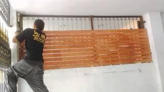 Repeat youtube video ทำระแนงบังแดด ระแนงบังตา ระแนงกันสาด ระแนงรั้วไม้ระแนง
