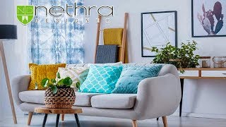 NETHRA DESIGNER    Curtains   Blinds   Wallpaper   Flooring   Sofa Set   Mosquito Net
