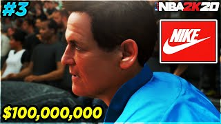 NBA 2K20 My Career EP 3 - Nike Offers $100,0000,000 Endorsement /The Draft Combine