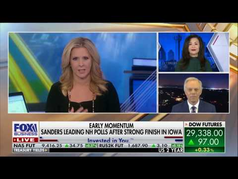 "Fox Business News ""FBN:AM,"" Feb 6, 2020: The state of the Democratic primaries"