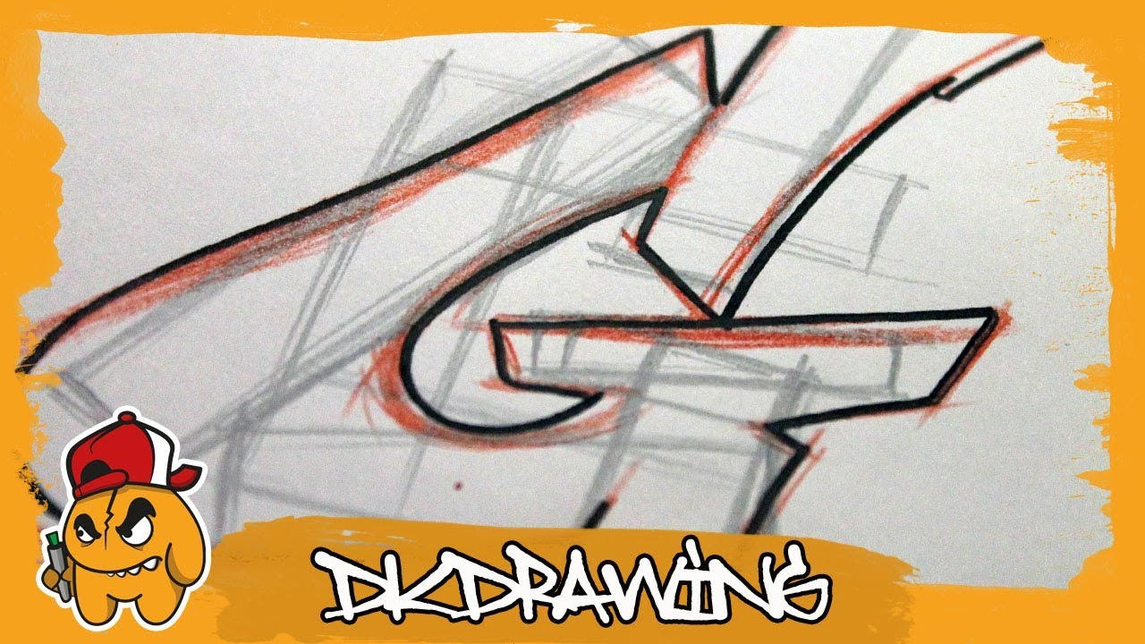 Graffiti tutorial for beginners how to draw flow your graffiti letters letter g