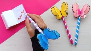 Easy Origami Paper Pen   Paper Craft   DIY Origami crafts   Origami paper craft   Origami Hacks