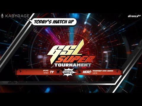 [2019 GSL Super Tournament 2] Round Of 4   Match 2   TY (T) Vs. HerO (P)