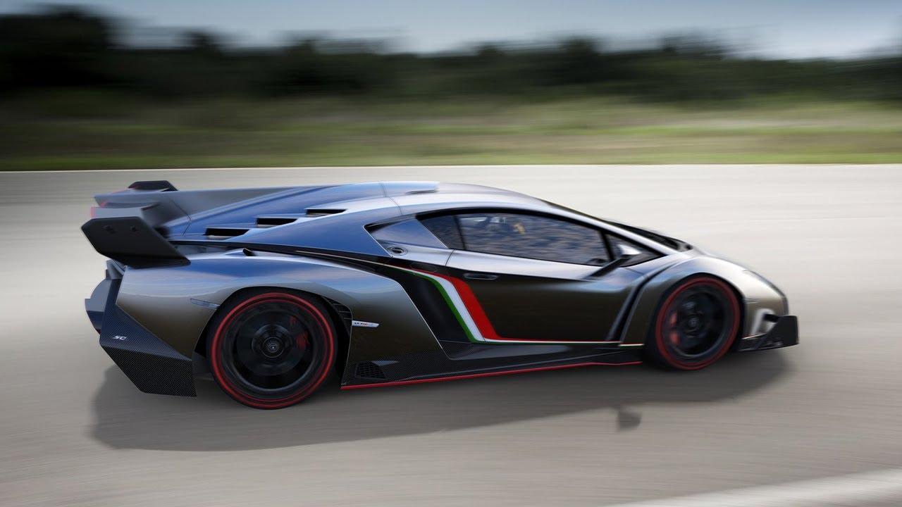 the world's fastest car - lamborghini veneno @ $4.5 million - youtube