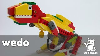 wedobots:  T-REx with LEGO® WeDo™ bricks