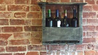 Pallet Wine Rack 2.0