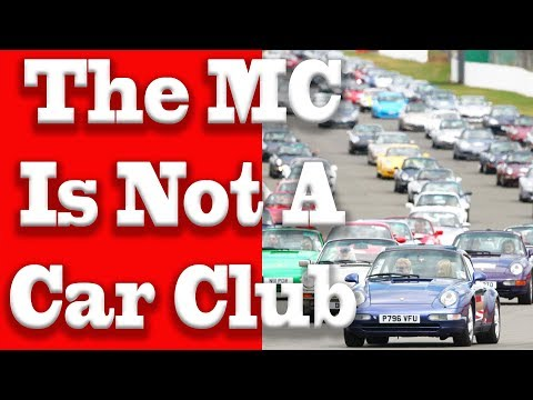 motorcycle club not car club